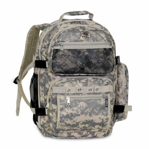 Everest Oversize Backpack - Digital Camo Perspective: front