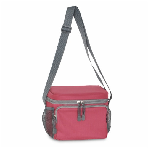 Everest Insulated Marsala Cooler/Lunch Bag Perspective: front