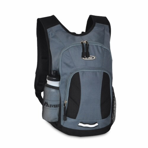 Everest Mini Hiking Pack - Dark Gray/Black Perspective: front