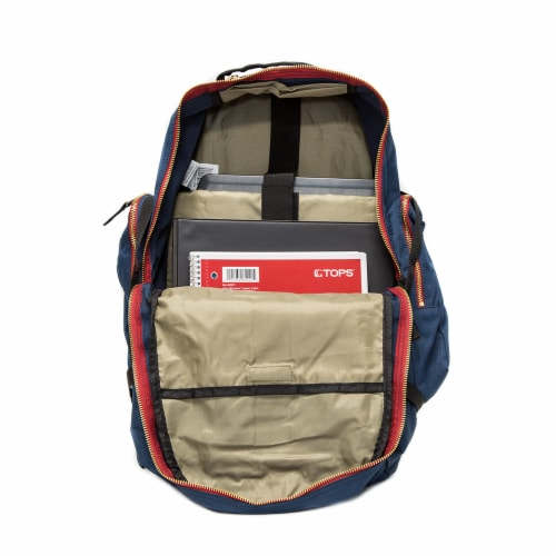 Everest Daypack with Laptop Pocket - Navy Perspective: front