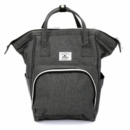 Everest Mini Back Backpack Handbag - Gray Perspective: front