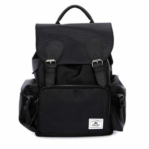 Everest Handbag Backpack - Black Perspective: front