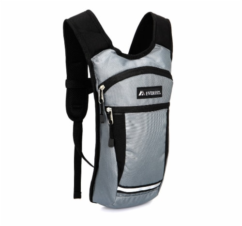 Everest Mound Hiking Pack - Gray/Black Perspective: front