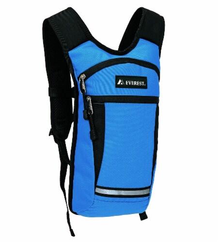 Everest Mound Hiking Pack - Royal Blue / Black Perspective: front
