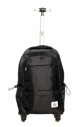 Everest Wheeled Laptop Backpack - Black Perspective: front