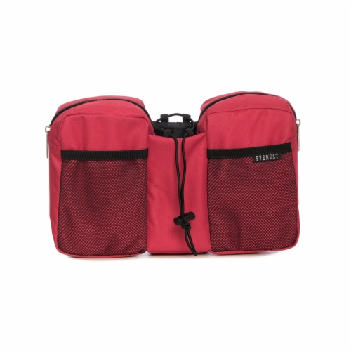Everest Multi-Purpose Red Waist Pack Perspective: front