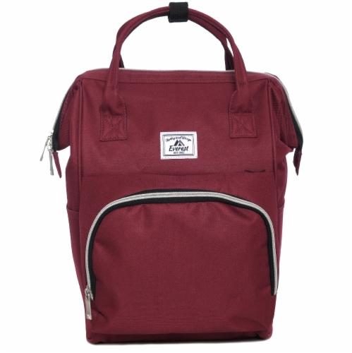 Everest Mini Handbag Backpack - Burgundy Perspective: front