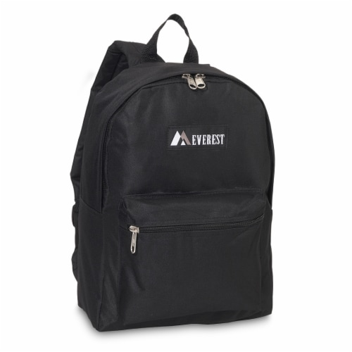 Everest Basic Backpack - Black Perspective: front