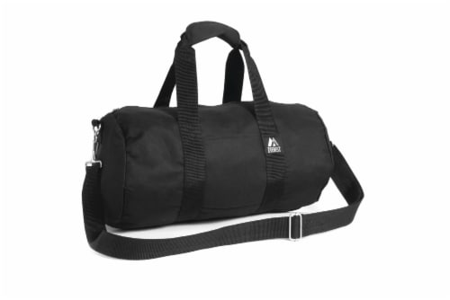 Everest Round Duffel - Black Perspective: front