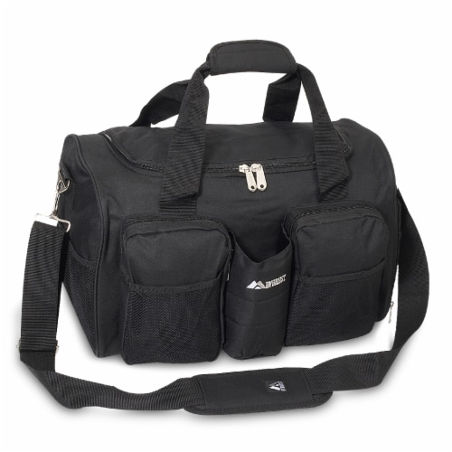 Everest Sports Duffel - Black Perspective: front