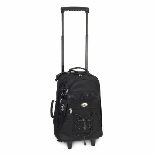 Everest Wheeled Backpack - Black Perspective: front