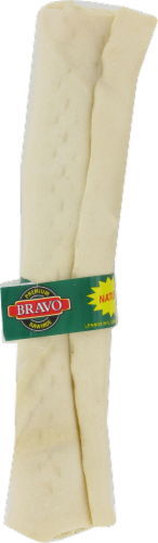 Bravo Natural Retriever Rawhide Roll Perspective: front