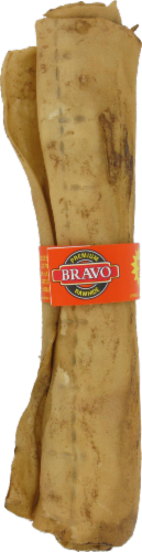 Bravo Peanut Butter Rawhide Roll Perspective: front