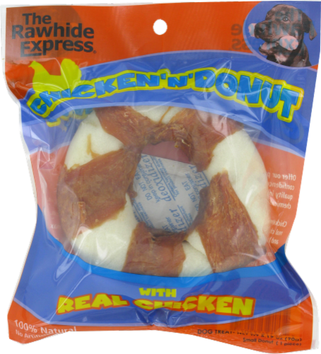 The Rawhide Express Chicken N Donut Rawhide Perspective: front