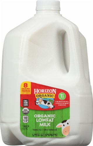 Horizon Organic 1% Lowfat Milk Perspective: front