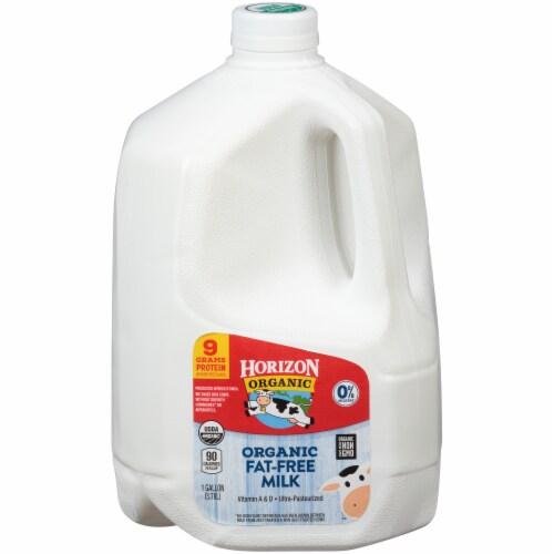 Horizon Organic Fat-Free Milk Perspective: front