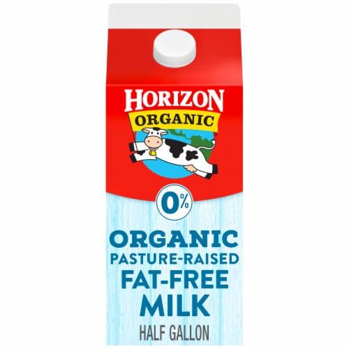 Horizon Organic Fat Free Milk Perspective: front