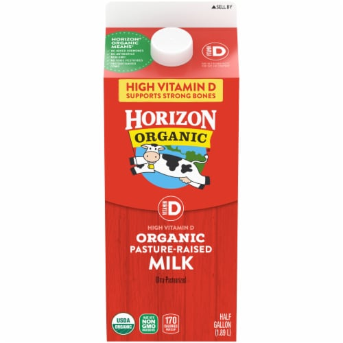Horizon Organic Vitamin D Milk Perspective: front