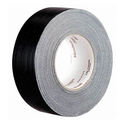 Nashua Duct Tape,Black,1 7/8 in x 60 yd,11 mil  398 Perspective: front
