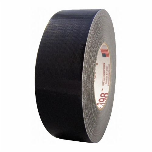 Nashua Duct Tape,Black,2 13/16 in x 60yd,11 mil  398 Perspective: front