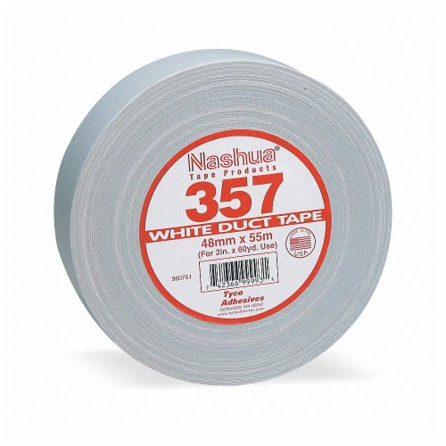 Nashua Duct Tape,White,2 13/16 in x 60yd,13 mil  357 Perspective: front