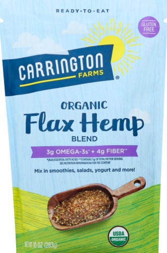 Carrington Farms  Organic Flax Hemp Blend Perspective: front