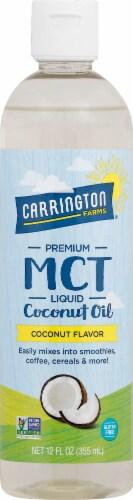 Carrington Farms  Premium MCT Oil   Coconut Perspective: front