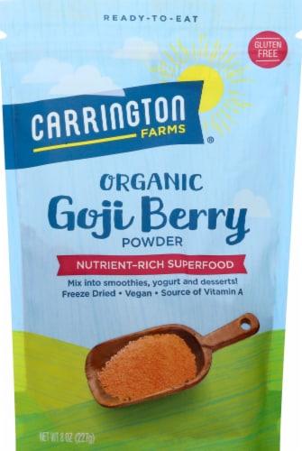 Carrington Farms  Organic Goji Berry Powder Perspective: front