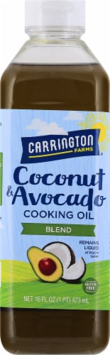 Carrington Farms  Coconut & Avocado Cooking Oil Blend Perspective: front