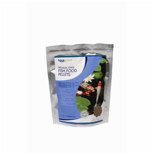 Aquascape 98868 1Kg Premium Staple Fish Food Pellets Perspective: front