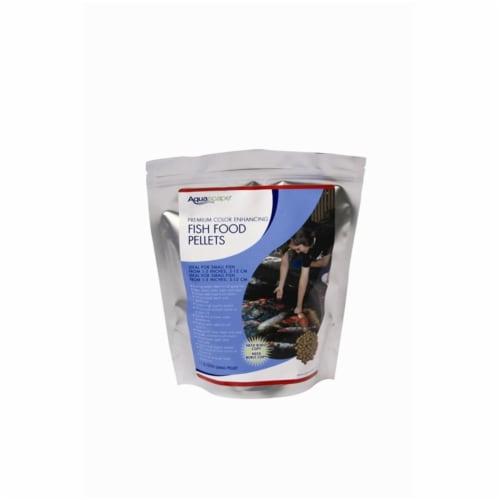 Aquascape 98873 500g Premium Color Enhancing Fish Food Pellets Perspective: front