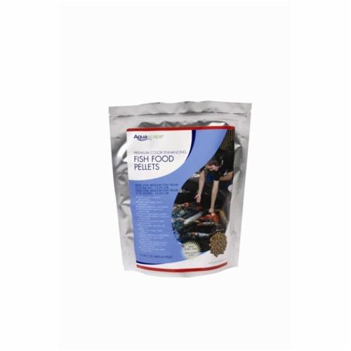 Aquascape 98874 1Kg Premium Color Enhancing Fish Food Pellets Perspective: front