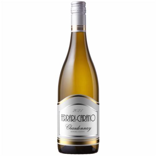 Ferrari Carano Sonoma Chardonnay White Wine Perspective: front