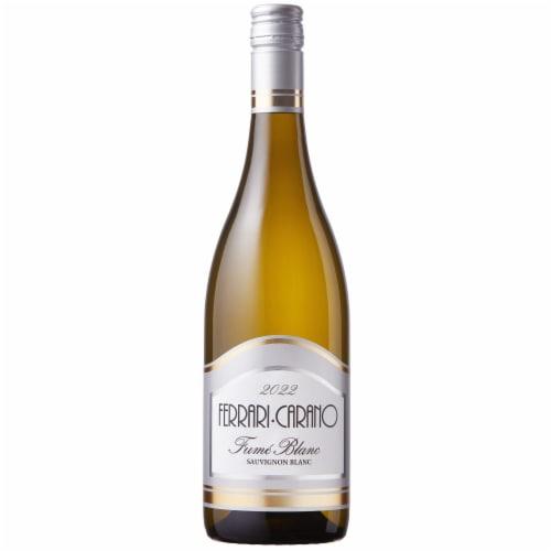 Ferrari Carano Fume Blanc White Wine Perspective: front