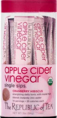 The Republic of Tea Organic Apple Cider Vinegar Single Sips Perspective: front