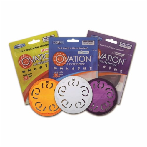 Citrus Magic 1222.2260 Ovation Air Freshener, Assorted Color Perspective: front