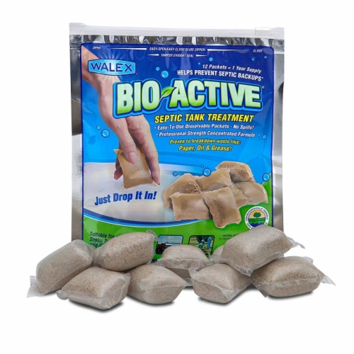 Walex 1222.2190 Bio Active Tank Treatment Drop-Ins - Pack of 12 Perspective: front