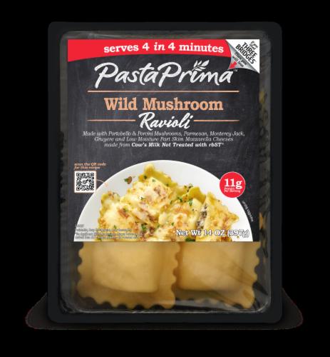 Pasta Prima Wild Mushroom Ravioli Perspective: front