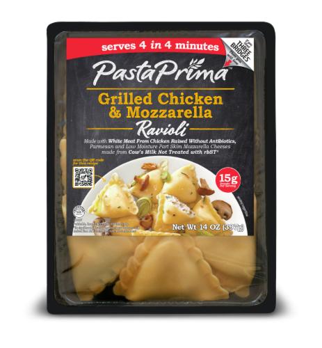 Pasta Prima Grilled Chicken and Mozzarella Ravioli Perspective: front