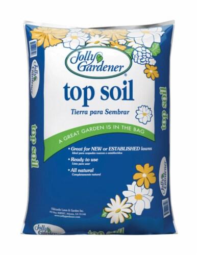 Jolly Gardener Organic Top Soil 40 lb. - Case Of: 1; Perspective: front