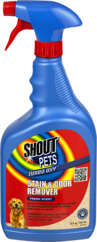 Shout Pets Fresh Scent Stain and Odor Remover Perspective: front