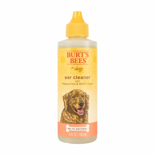 Burt's Bees Peppermint & Witch Hazel Ear Cleaner for Dogs Perspective: front