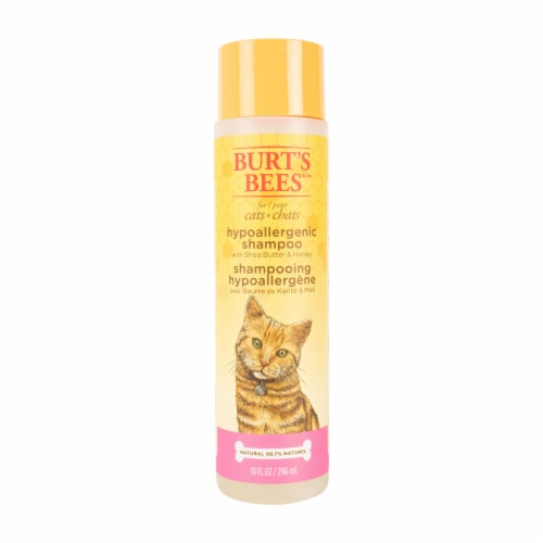 Burt's Bees Shea Butter & Honey Hypoallergenic Shampoo for Cats Perspective: front