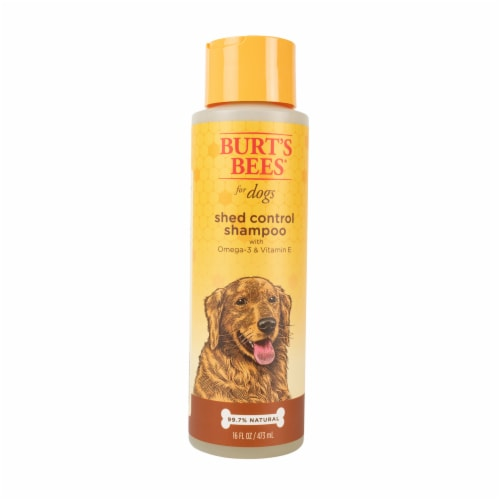 Burt's Bees Omega-3 & Vitamin E Shed Control Shampoo for Dogs Perspective: front