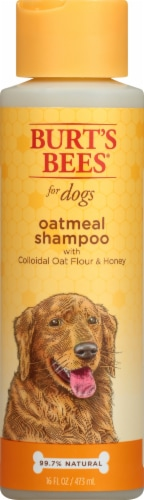 Burt's Bees Oatmeal Shampoo For Dogs Perspective: front