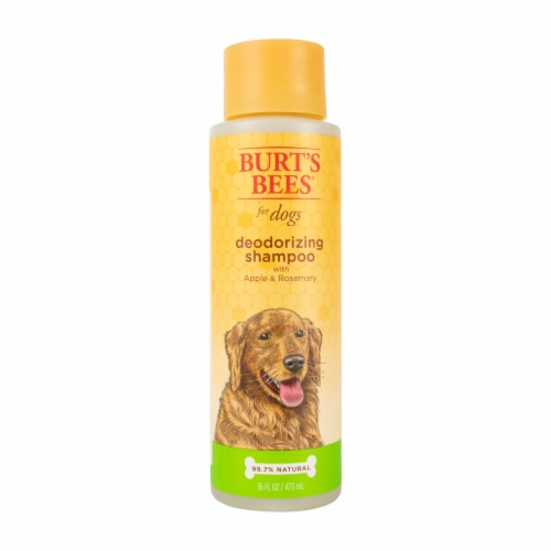 Burt's Bees Apple & Rosemary Deodorizing Shampoo for Dogs Perspective: front