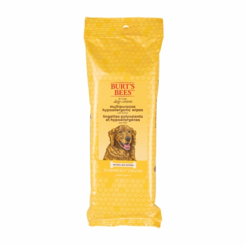 Burt's Bees for Dogs Multipurpose Wipes Perspective: front
