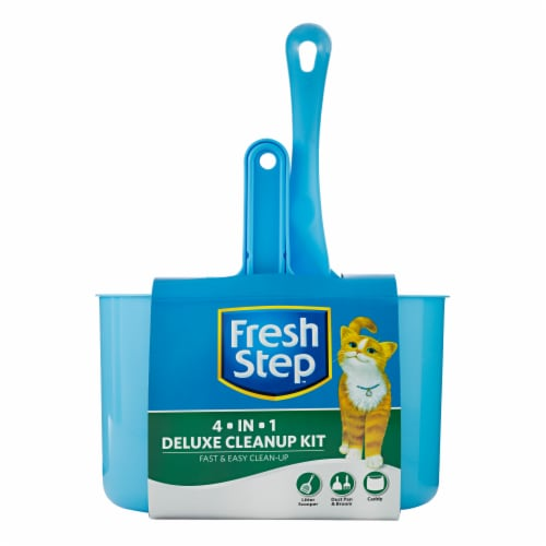 Fresh Step 4 in 1 Deluxe Cleanup Kit Perspective: front