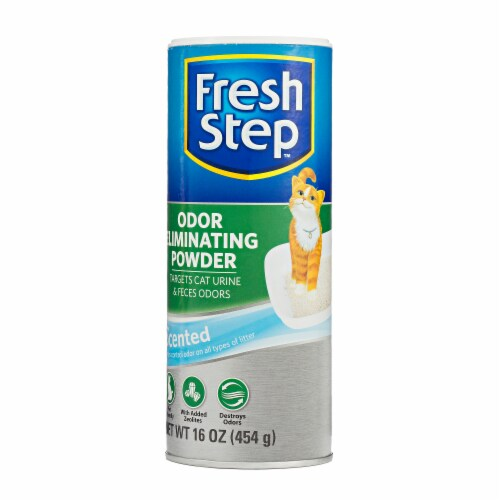 Fresh Step Odor Eliminating Powder Perspective: front