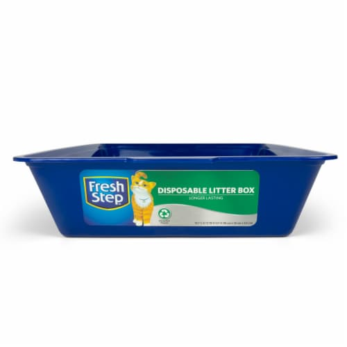 Fresh Step Disposable Litter Box Perspective: front